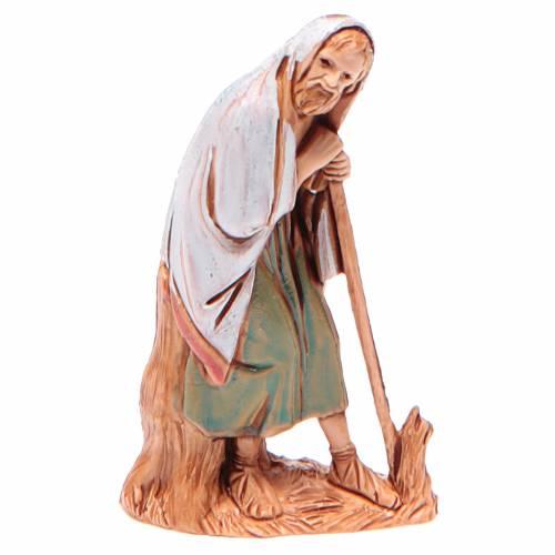 Homme âgé avec canne 6,5 cm Moranduzzo vêtements historiques s1