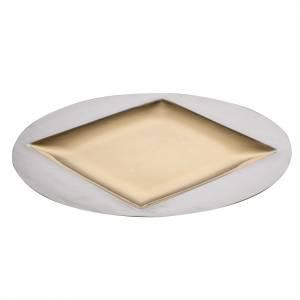 Metall Kelchen, Patenen, Ziborium: Hostienschale Modell Quadratum