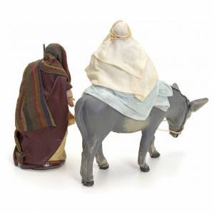Huida a Egipto cm 8 pesebre napolitano s2