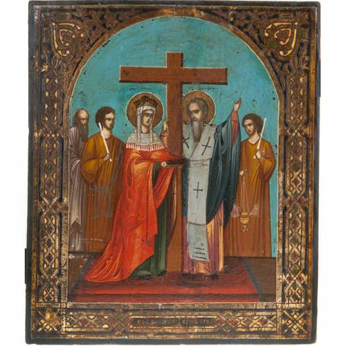 Icon 'Exaltation of the Holy Cross' s1