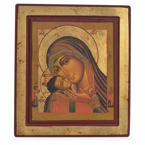 Icona Greca serigrafata Madonna di Korsun s1