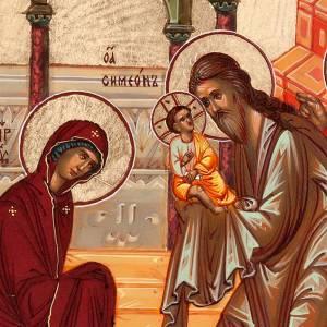 Icona Presentazione di Gesù al tempio s3