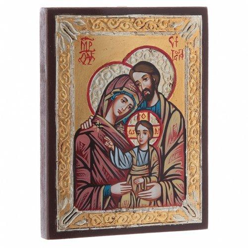 Icona Romania Sacra Famiglia s2