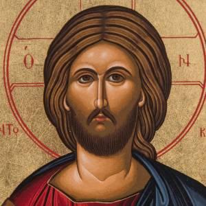 Icona serigrafata Gesù Pantocratore Grecia s2