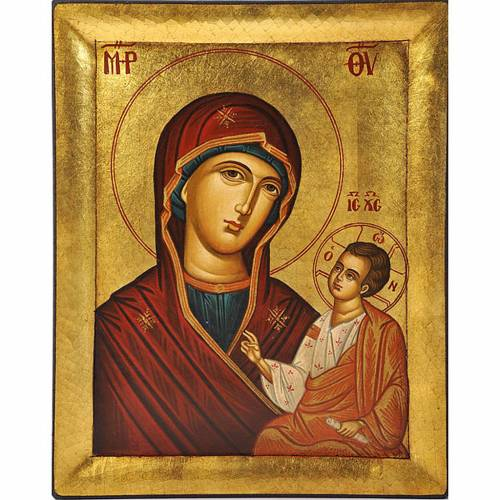 Icona greca Vergine Odigitria s1