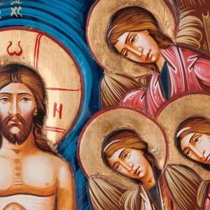 Icône 45x120 cm, baptême de Jésus s4