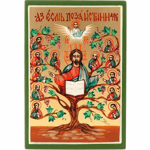 Icône russe arbre de la vie s1