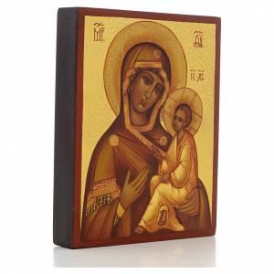 Icone Russe de la Mère de Dieu de Tikhvin s2