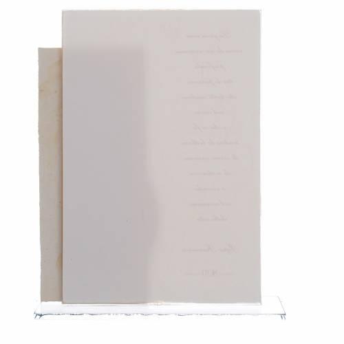 Idea Regalo Matrimonio S. Famiglia stampa Papa Francesco h. 17 cm s2