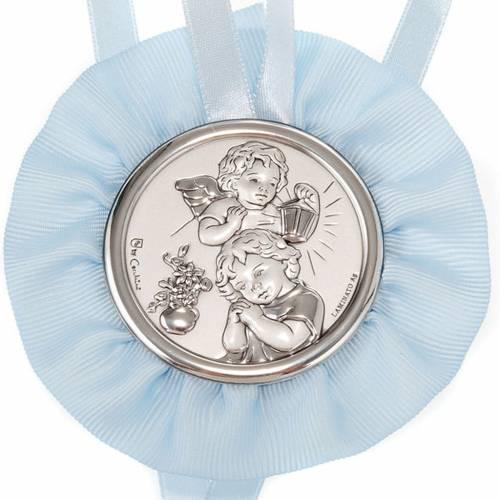 Image pour berceau,ange avec enfant et lanterne s2