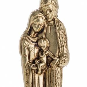 Imán metalizados de la Sagrada Familia 7cm s2