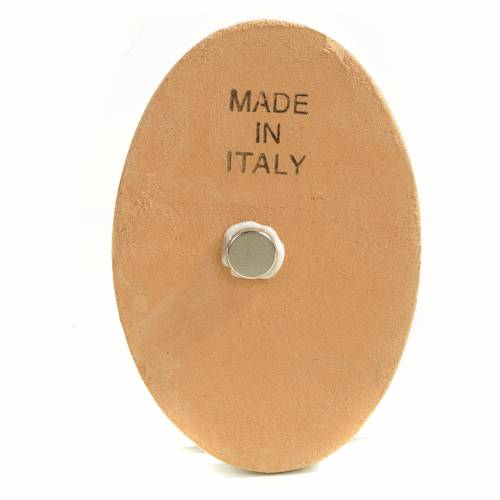 Imán redondo de cerámica Natividad s2