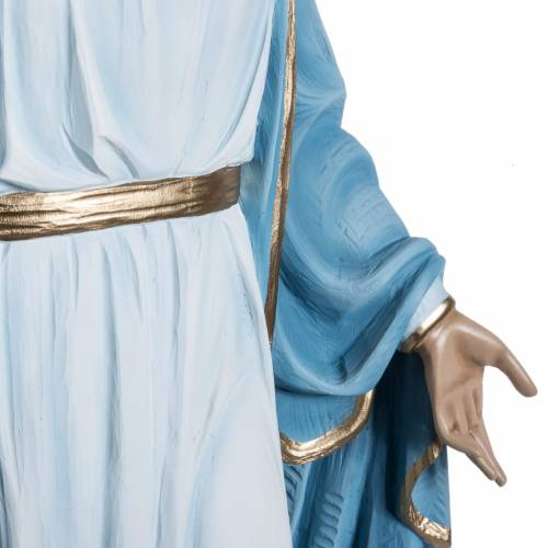 Immaculate statue in fiberglass, 100 cm s8