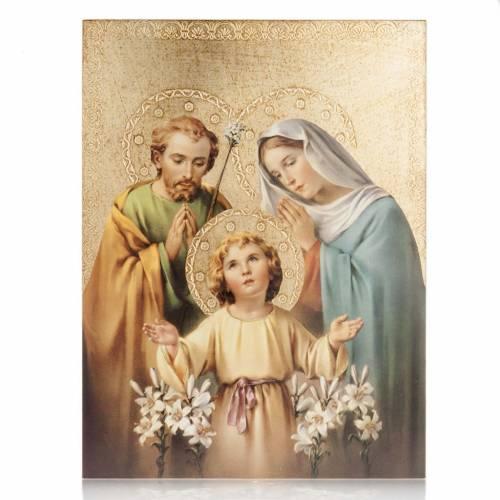 Impression bois Sainte Famille de Bellazzi s1