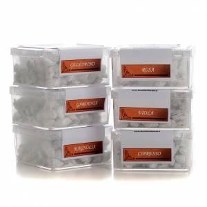Inciensos, bálsamos y resinas: Incienso Griego varias fragancias 30 gr.