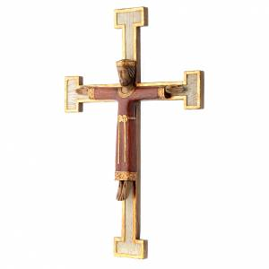 Stone crucifixes: Jesus Christ, Priest and King crucifix Bethlehem nuns