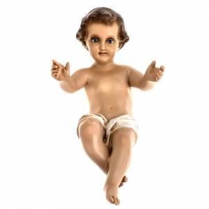 Christkindstatuen: Jesuskind aus Harz Landi 33 cm