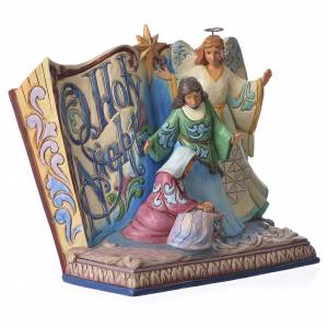 Jim Shore - Song Book Holy Night figurine s3