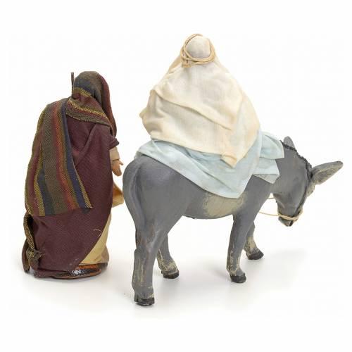 Joseph et Marie enceinte crèche Napolitaine 8 cm s2