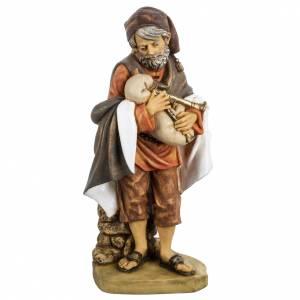 Santons crèche: Joueur de musette crèche noel 52 cm Fontanini