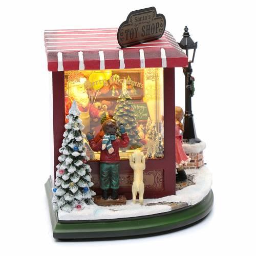 Juguetería de Navidad 20x25x15 cm s4