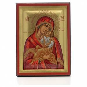 Griechische Ikonen: Jungfrau Maria Glykophilousa
