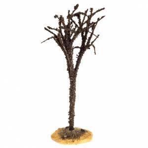 Moos, Stroh und Bäume für Krippe: Kahler Baum 15cm groß