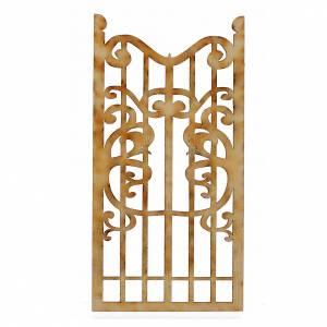Türen, Geländer: Kleinen Holztor für Krippe 12x6cm