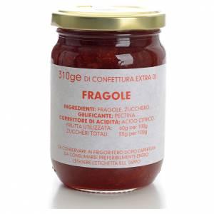 Konfitüren, Marmeladen: Konfitüre Erdbeere 310gr, Karmelitinnen