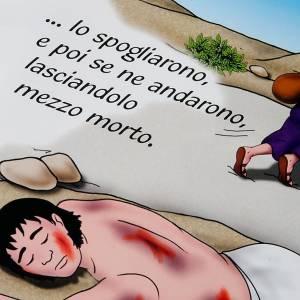 Livres pour enfants: La parabole du bon samaritain ITA