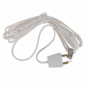 Lampe avec lumière 3,5V et câble de 150cm s2