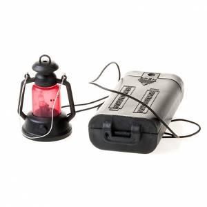 Lichter und Laterne für Krippe: Lampe Batterien Krippe 4 Zentimeter