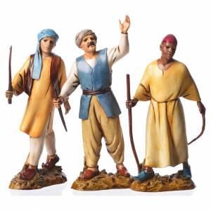 Leaders, 3 nativity figurines, 12cm Moranduzzo s1