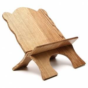 Leggio tavolo frassino chiaro semplice Monaci Betlemme s4