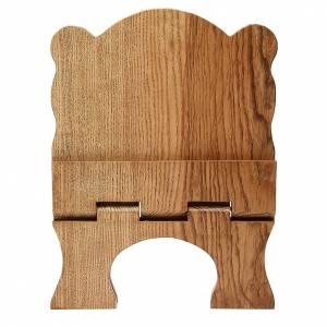 Leggio tavolo frassino chiaro semplice Monaci Betlemme s5