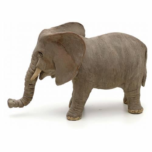 Éléphant pour crèche Napolitaine 10 cm s3