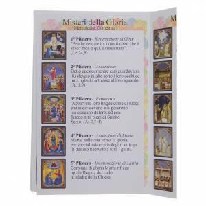 Libretto Il santo Rosario in lingua italiana s4