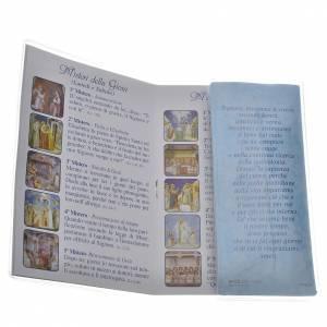 Librito Santo Rosario Maria que desata los nudos con rosario s3