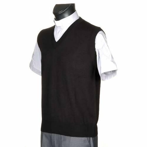 Light V-neck waistcoat s2