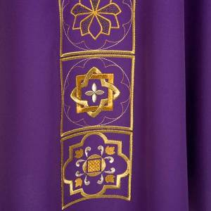 Liturgical chasuble golden embroidery s6