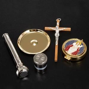 Bursy i zestawy podróżne dla księdza: Liturgiczny komplet podróżny skórzana walizka