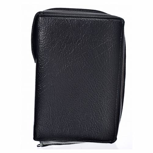 Liturgy of the Hours cover, black bonded leather s1