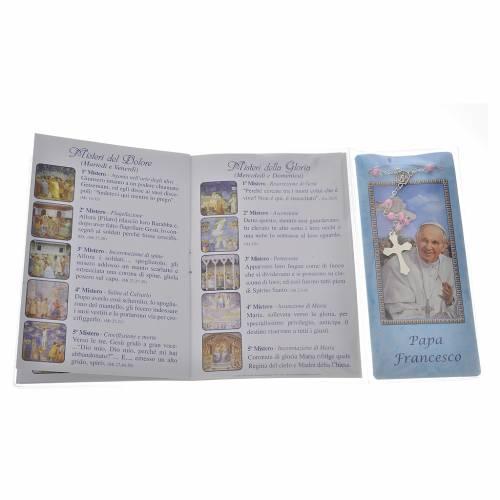 Livre rosaire Pape François et chapelet IT s3