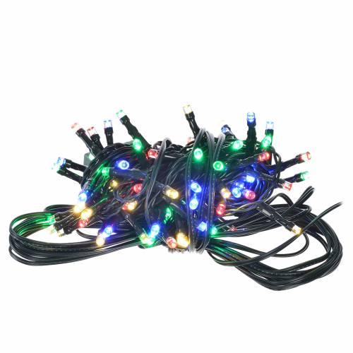 Luce natalizia 96 led programmabili multicolor interno/esterno s1