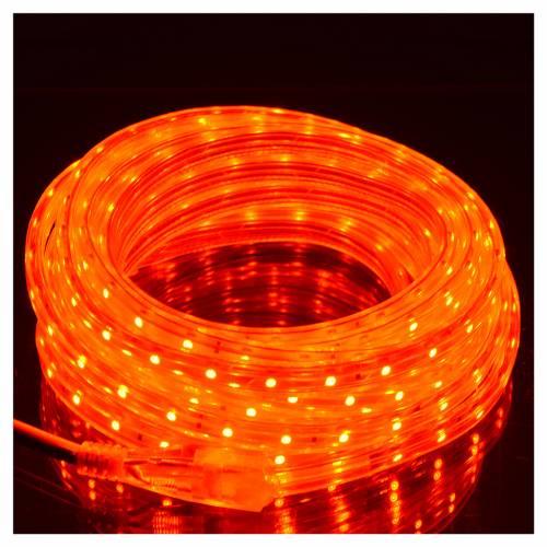 Luminaire de Noël tube slim 300 leds int rouge s2