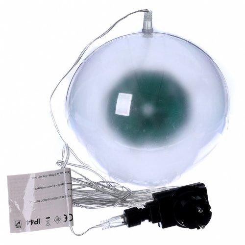 Luz navideña esfera 48 led coloreados diam. 20 cm uso interno s5