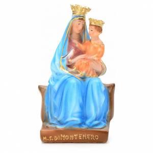 Madonna Montenero 20 cm gesso s1