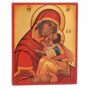 Íconos Pintados Rusia: Madre de Dios 'más honorable'