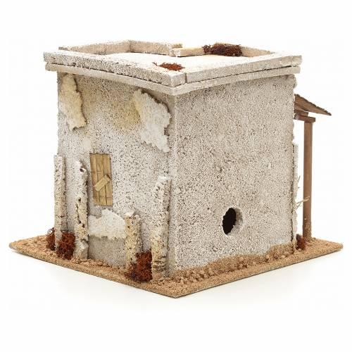Maison arabe en miniature avec atelier du potier crèche s4