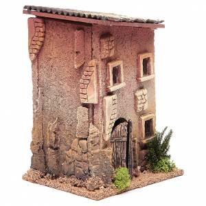 Maison crèche 23x15x12 cm pour 6 cm s3